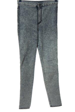 H&M Divided Vaquero elásticos gris claro look casual