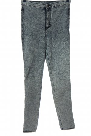 H&M Divided Stretch jeans lichtgrijs casual uitstraling