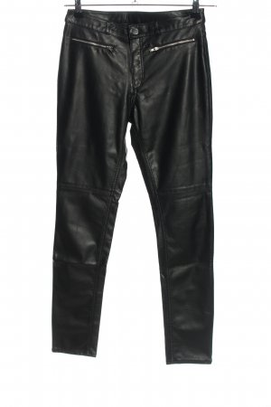 H&M Divided Stretchhose schwarz Casual-Look