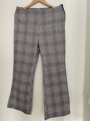 H&M Divided Stretchhose Allover-Druck Business-Look