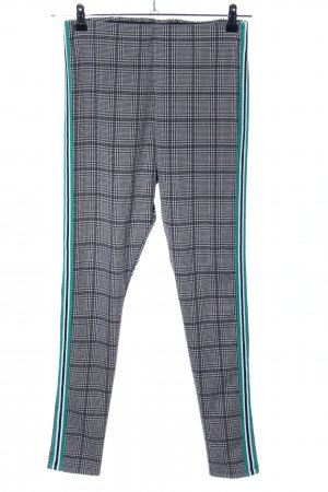 H&M Divided Stretchhose Karomuster Casual-Look