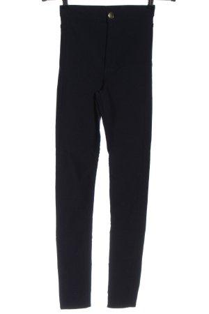 H&M Divided Spodnie ze stretchu czarny W stylu casual
