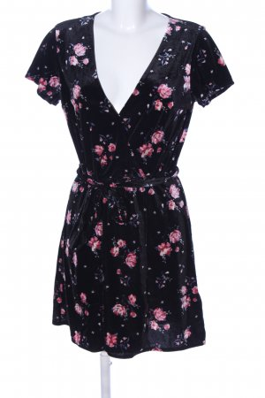 H&M Divided Stretch Dress flower pattern business style