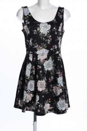 H&M Divided Stretch jurk volledige print elegant