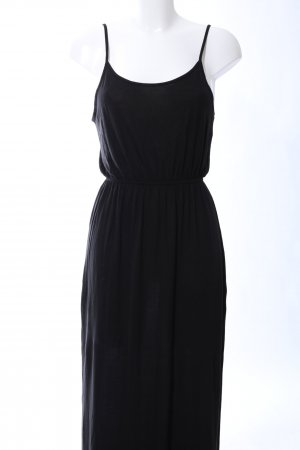 H&M Divided Stretchkleid schwarz Casual-Look