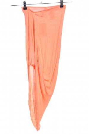H&M Divided Stretchrock hellorange Casual-Look