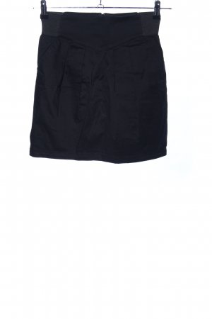 H&M Divided Stretchrock schwarz Casual-Look