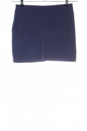 H&M Divided Stretchrock blau Casual-Look