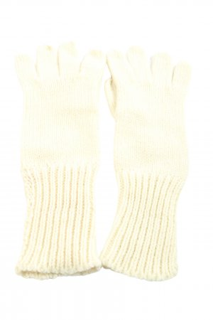 H&M Divided Knitted Gloves cream casual look