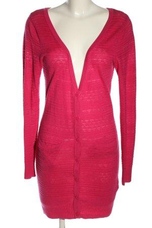 H&M Divided Strickjacke pink Casual-Look