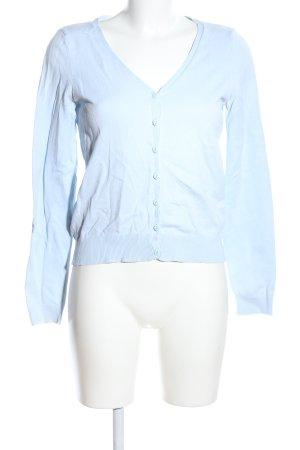H&M Divided Strickjacke blau Casual-Look