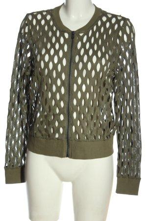 H&M Divided Strickjacke khaki Casual-Look