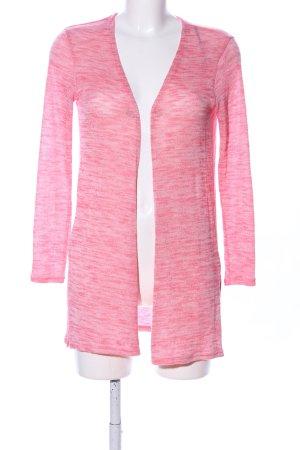 H&M Divided Strickjacke pink meliert Casual-Look