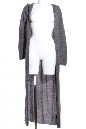 H&M Divided Knitted Coat light grey flecked casual look