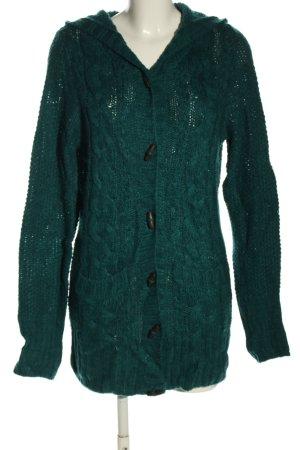 H&M Divided Cappotto a maglia verde stile casual