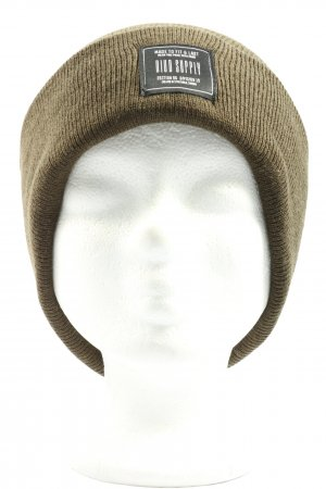 H&M Divided Knitted Hat khaki casual look