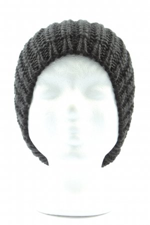 H&M Divided Knitted Hat black casual look