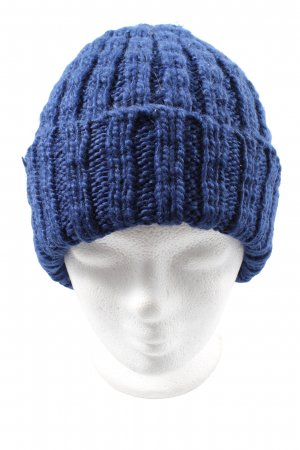 H&M Divided Knitted Hat blue cable stitch casual look