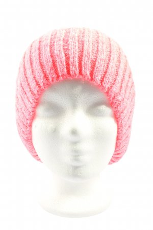 H&M Divided Knitted Hat pink striped pattern casual look
