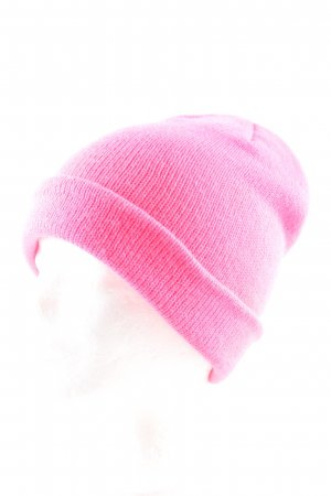 H&M Divided Knitted Hat pink casual look