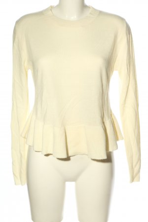 H&M Divided Strickpullover creme Casual-Look