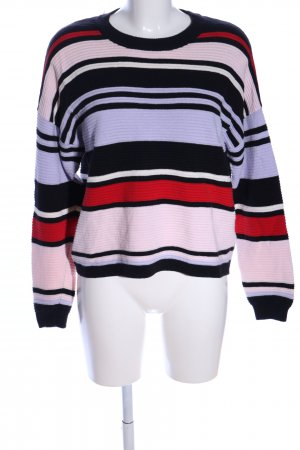 H&M Divided Strickpullover Allover-Druck Casual-Look