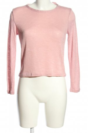 H&M Divided Strickpullover pink Casual-Look