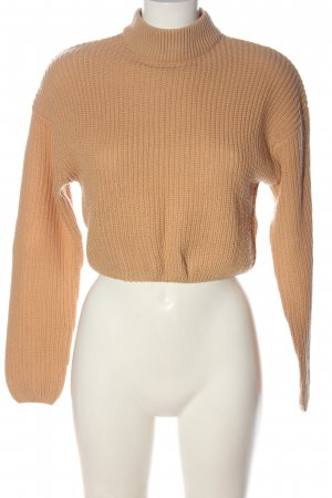 H&M Divided Strickpullover nude Casual-Look