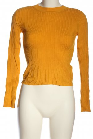 H&M Divided Strickpullover hellorange Casual-Look