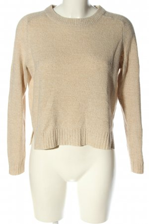 H&M Divided Strickpullover wollweiß Casual-Look