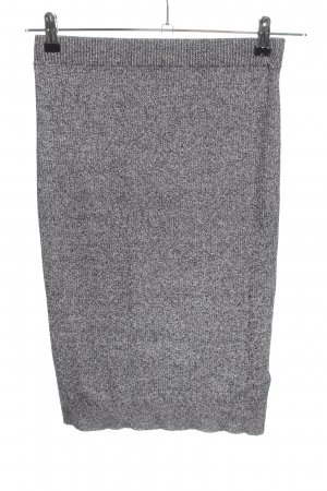 H&M Divided Knitted Skirt light grey casual look
