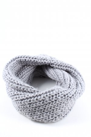 H&M Divided Knitted Scarf blue cable stitch casual look