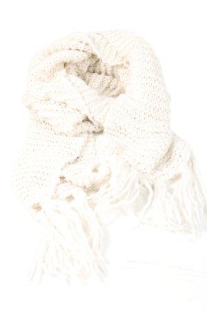 H&M Divided Écharpe en tricot crème style décontracté