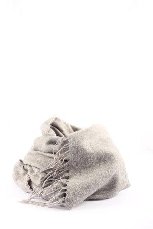 H&M Divided Gebreide sjaal lichtgrijs casual uitstraling