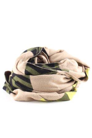 H&M Divided Gebreide sjaal grafisch patroon casual uitstraling