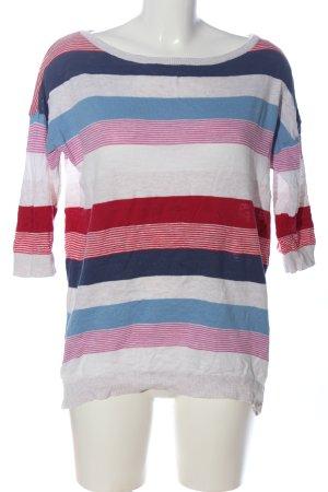 H&M Divided Strickshirt Streifenmuster Casual-Look