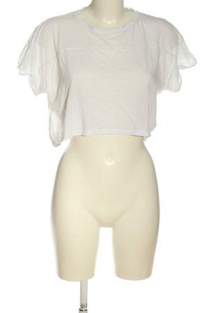 H&M Divided Strickshirt weiß Casual-Look