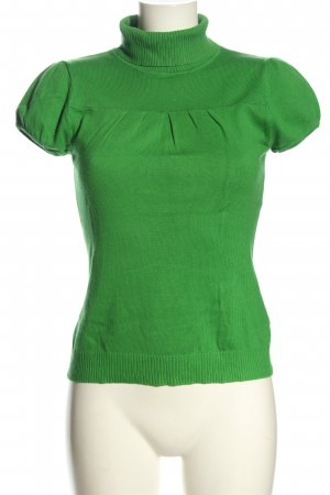 H&M Divided Knitted Jumper green casual look