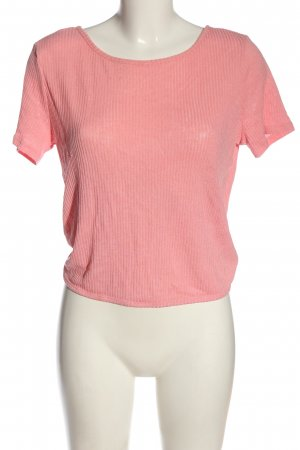 H&M Divided Strickshirt pink Casual-Look