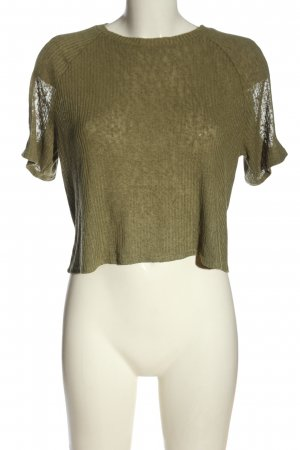 H&M Divided Strickshirt khaki Casual-Look