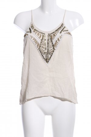 H&M Divided Knitted Top natural white casual look