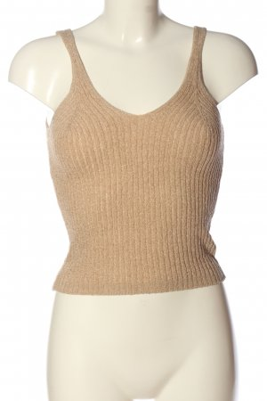 H&M Divided Knitted Top nude casual look