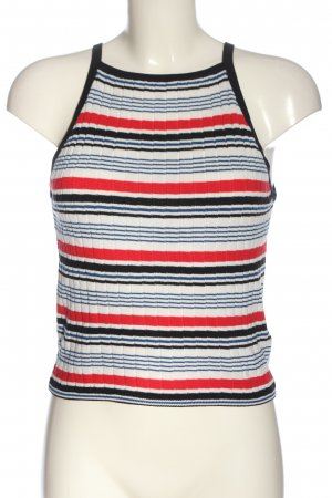 H&M Divided Knitted Top striped pattern casual look