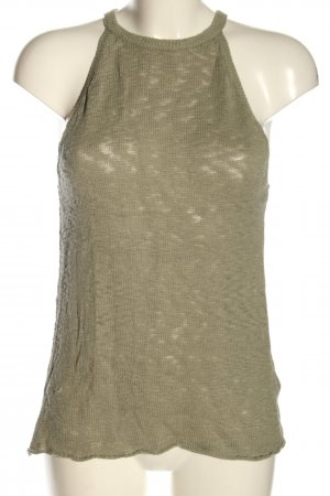 H&M Divided Knitted Top khaki casual look