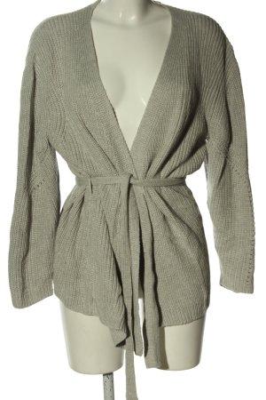 H&M Divided Cache-cœur en tricot gris clair style décontracté