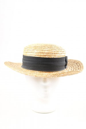 H&M Divided Straw Hat brown-black casual look
