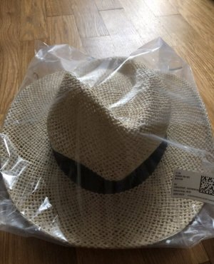 H&M Divided Straw Hat oatmeal-cream