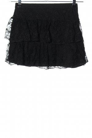 H&M Divided Broomstick Skirt black casual look