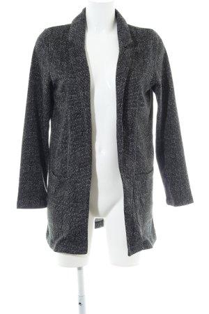 H&M Divided Sweatblazer hellgrau meliert Business-Look