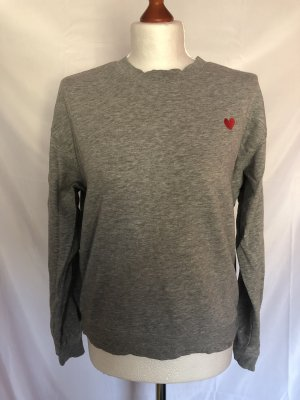 H&M Divided Sweater Herzprint Stick S